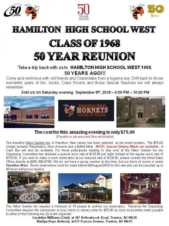 Class of '68' 50th Reunion