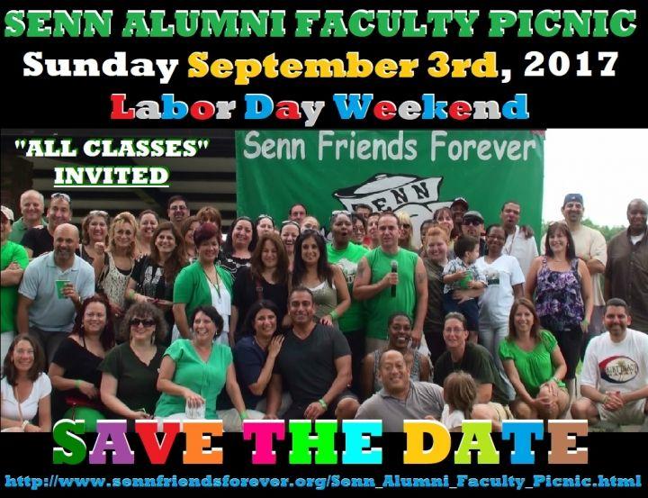 Senn Alumni and Faculty Family Picnic