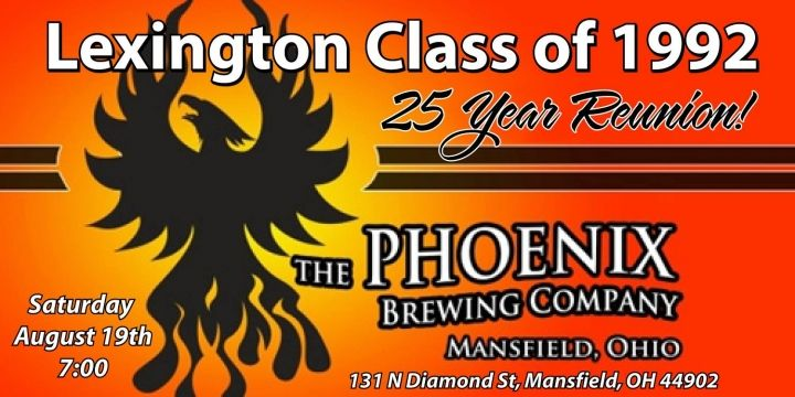 25 year Class Reunion of 1992