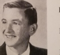Henry Burden, class of 1966