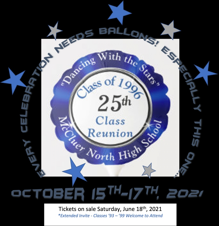 """McCluer North Class of 1996 Reunion """"DANCING WITH THE STARS"""""""
