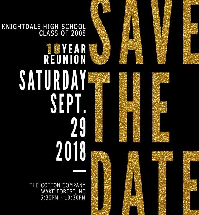 Knightdale High School Class of 2008 Reunion