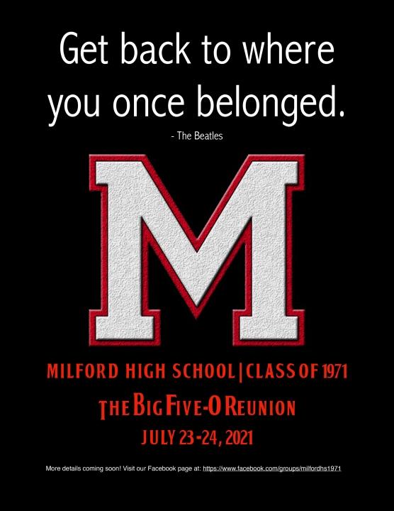 Milford High School Alumni Photo