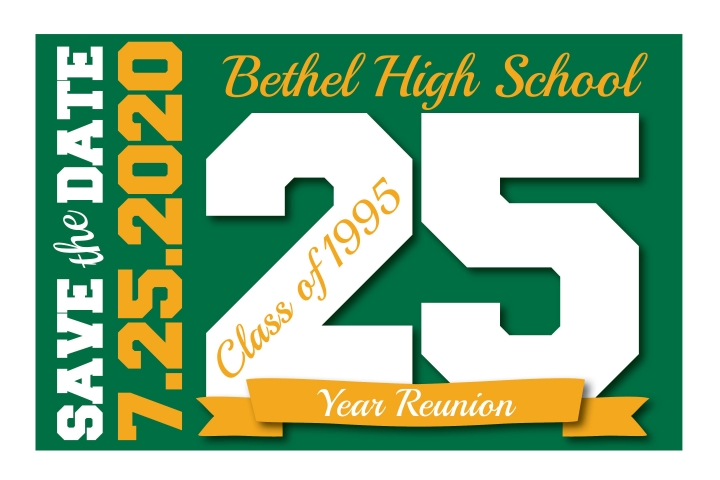 SAVE THE DATE - Class of 1995 - 25th Class Reunion