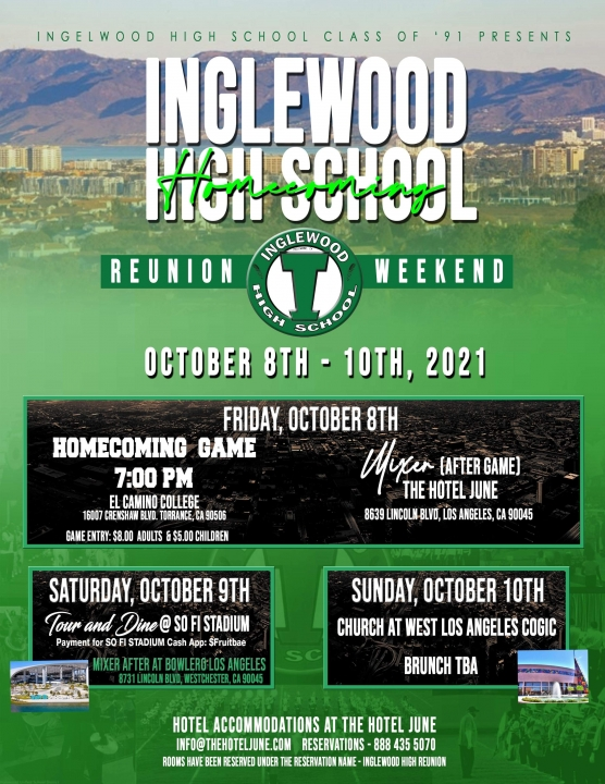 Class of 91: Welcomes all IHS Alumni!