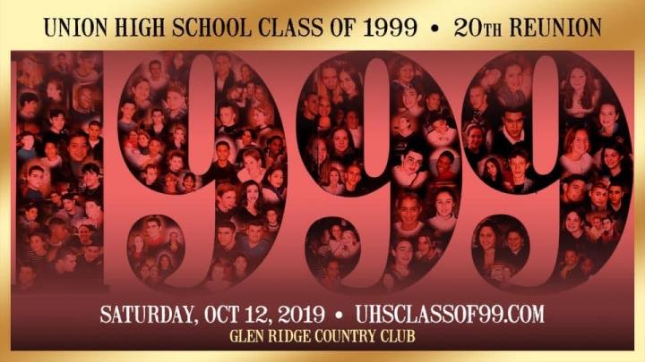 Union High School - Class of 1999:  20th Reunion