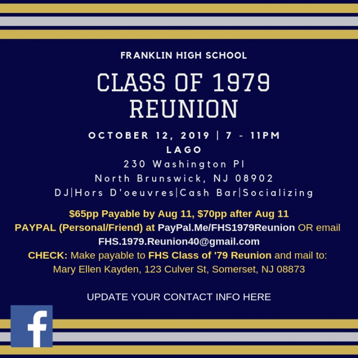 Class of 1979 40th Reunion