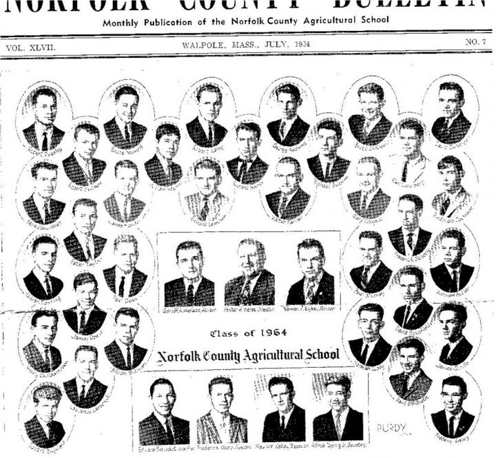 Norfolk County Agricultural High School Classmates