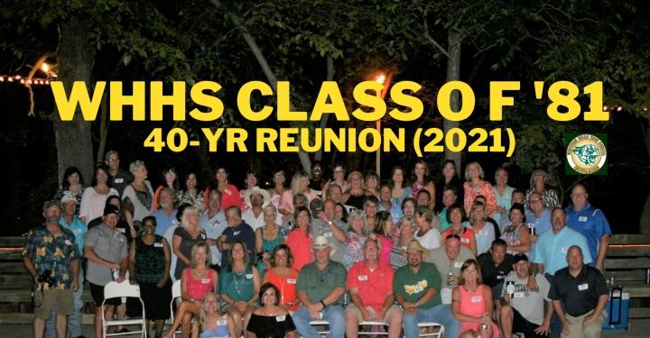 Class of 1981 40-Year Reunion