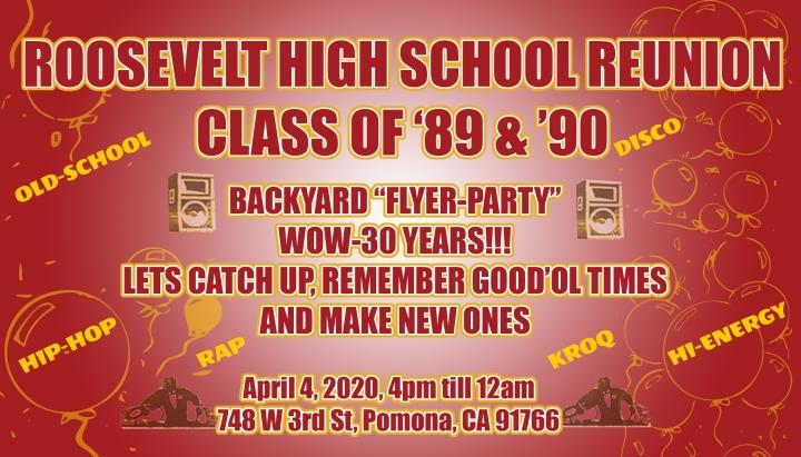 Class of 1989 & Class of 1990
