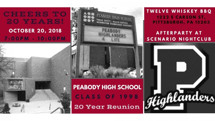 Peabody HS Class of 1998 20 Year Reunion