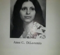 Anne Dilorenzo class of '76
