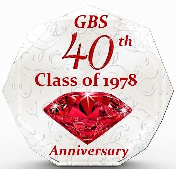 Class of 1978 40th Fall Reunions September 21st, 22nd