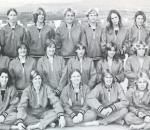 1977 Girls Swimming Team