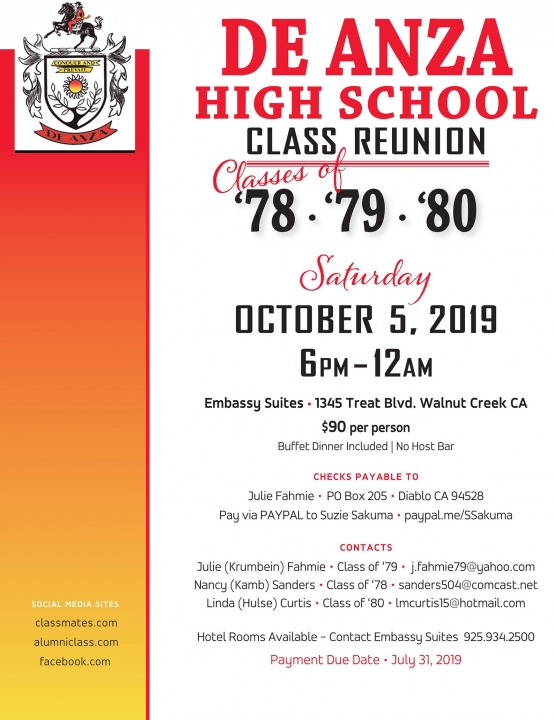 Class of 79 40th reunion