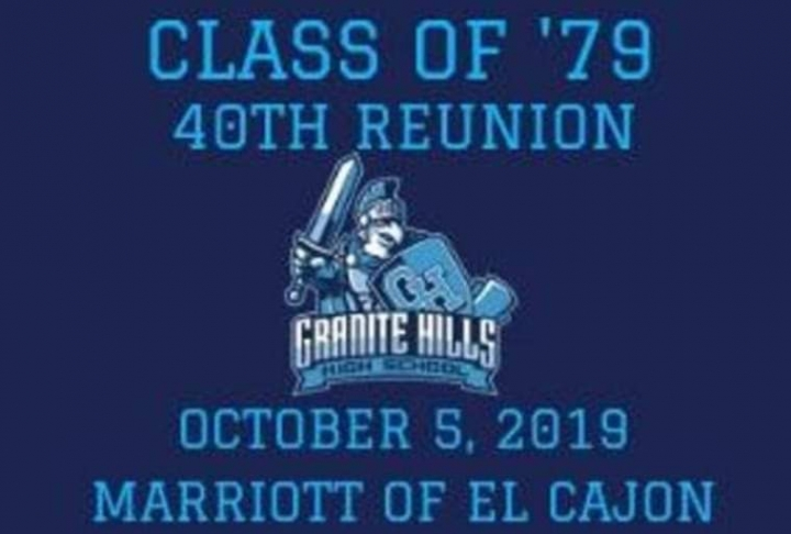 GHHS CLASS OF '79 40TH REUNION