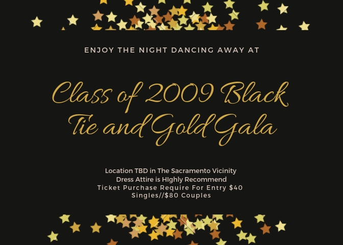 Class of 2009 Black and Gold Gala