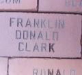 Franklin Clark class of '83