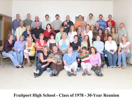 Fruitport Class of 1978 40 Year Class Reunion