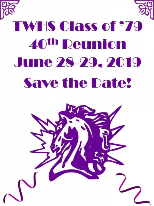 TWHS Class of 1979 40th Reunion