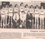 Class of 1971 Baketball team