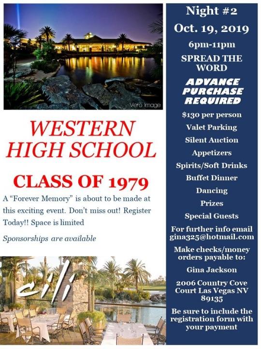 Western High School Alumni Photo