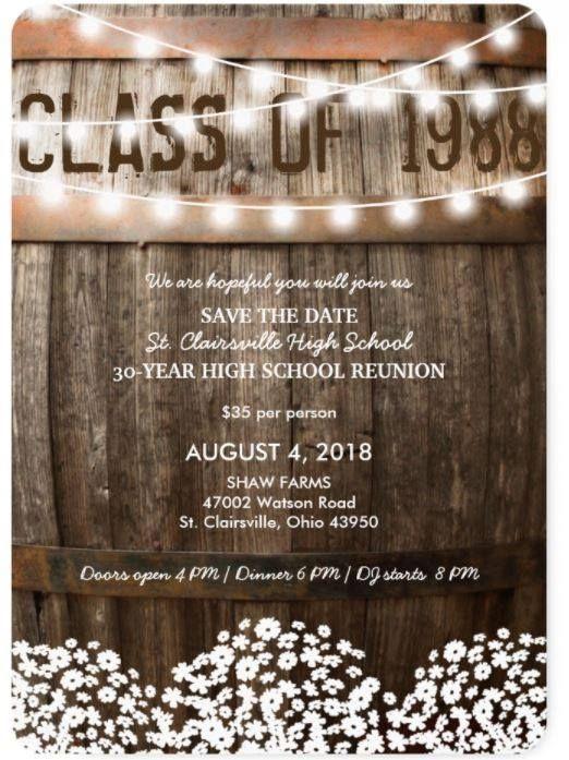 Class of 1988 - 30-yr Reunion