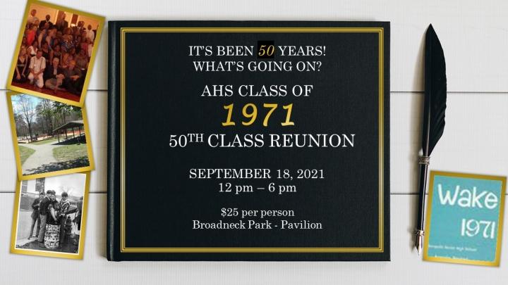 50th Reunion Picnic - Class of 1971