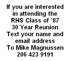 Redmond High School Classmates