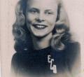 Edith Davis (Upstill), class of 1948