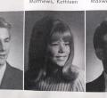 Kathleen Matthews class of '67