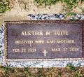 Aletha (bush) Tuite
